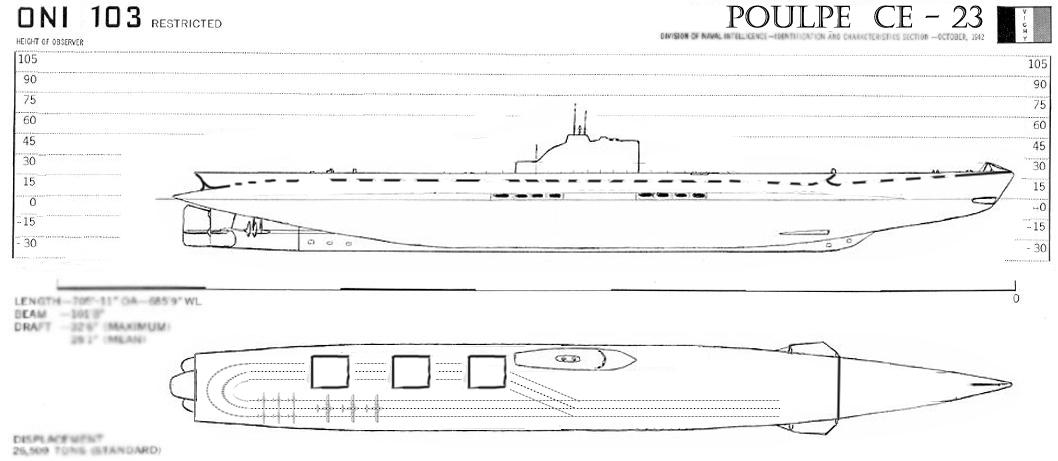 схема подводного авианосца