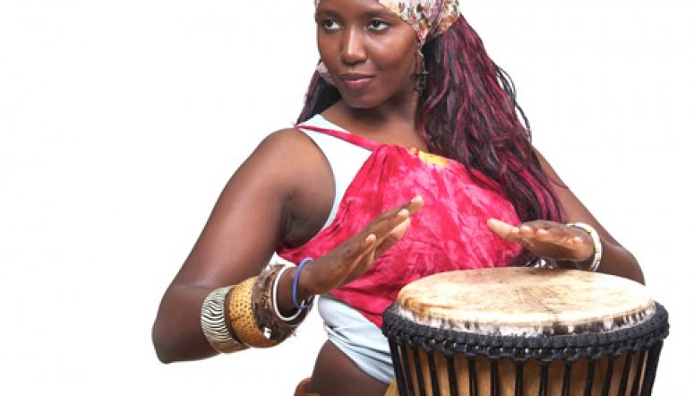 Африканский барабан мастер класс