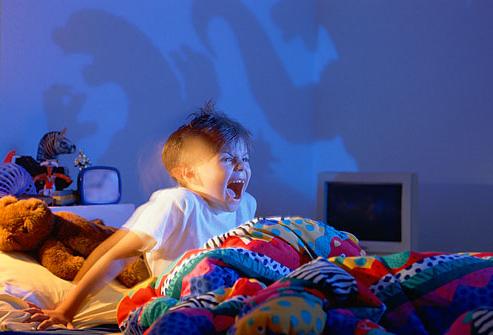 Чтобы ребёнок не писался ночью