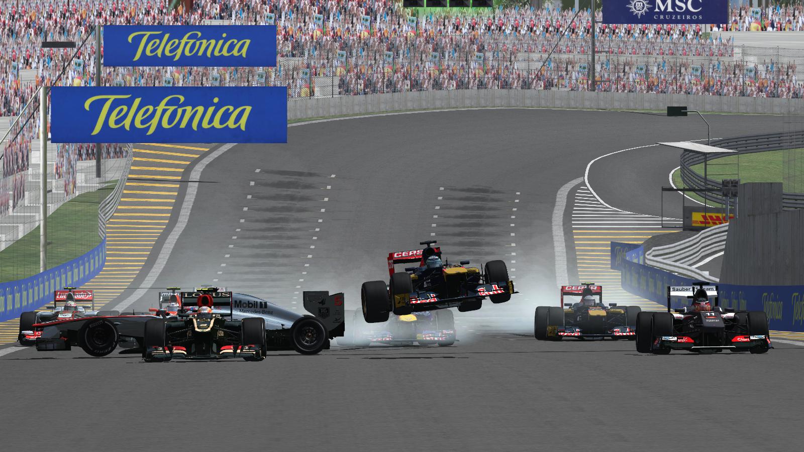 Обзор VRC F1 2013 Гран-При Бразилии