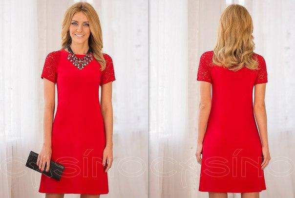 Украшения с красным платьем