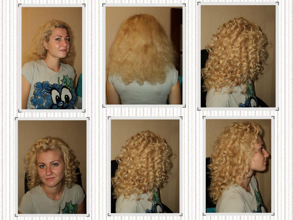 Чем сделать химию на волосах в домашних условиях