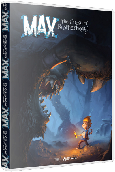 Max: The Curse of Brotherhood [Update 2] (2014) PC | RePack от R.G. Механики