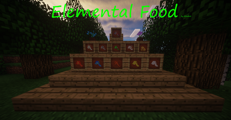 [1.7.10] Elemental Food - Вкусные эффекты