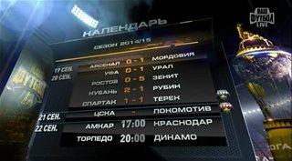 ������. ��������� ������ 2014-2015 (8-� ���) ���� - ��������� [21.09] (2014) HDTVRip