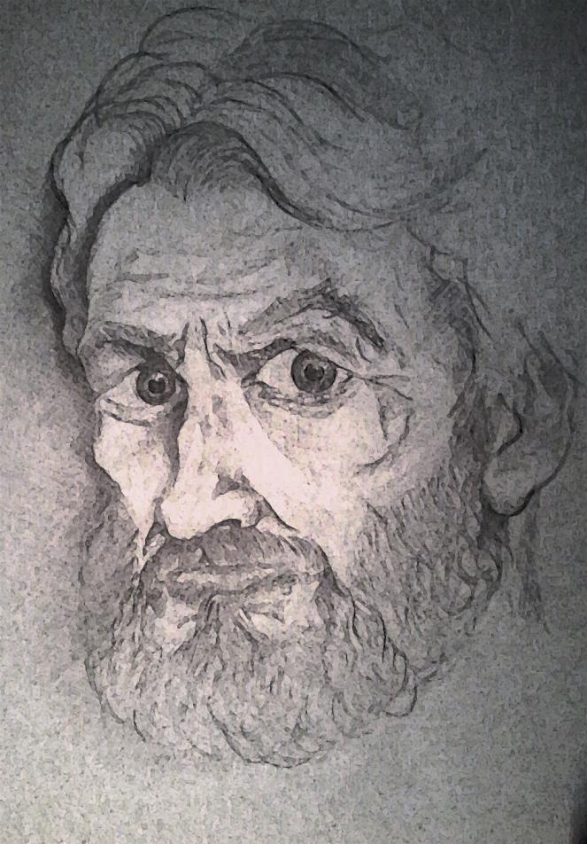 Портрет ГГ повести ,,Homo homini...,, вариант 2