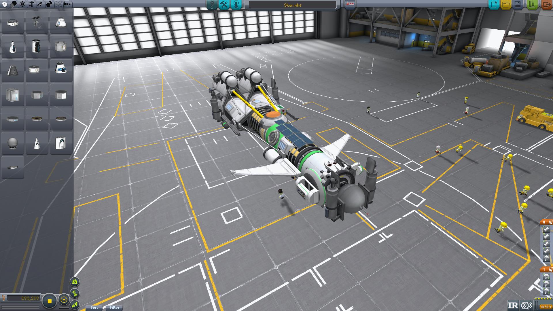 Беспилотный орбитальный сканер кетана