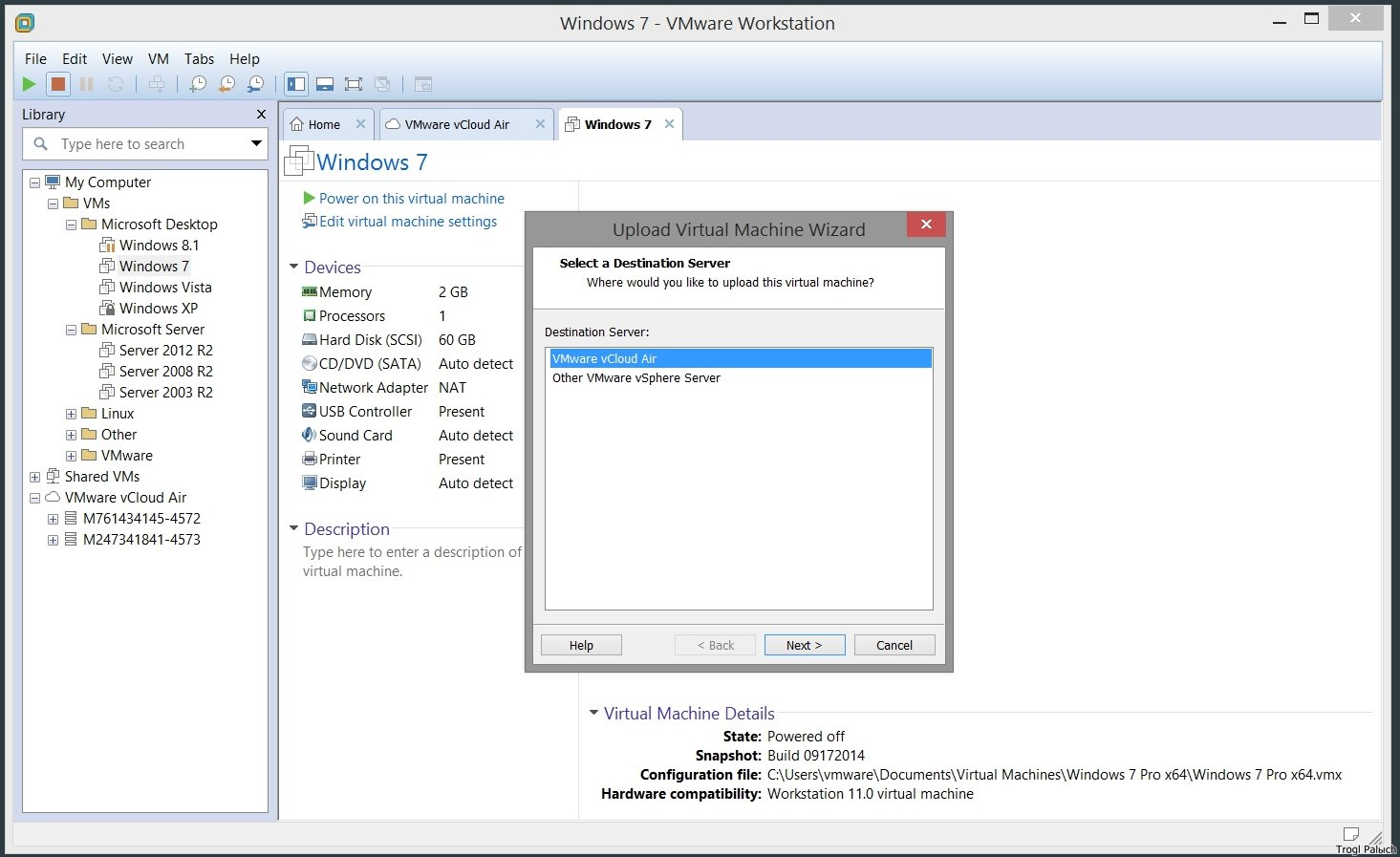 Install Vmware Network Adapter Windows 7