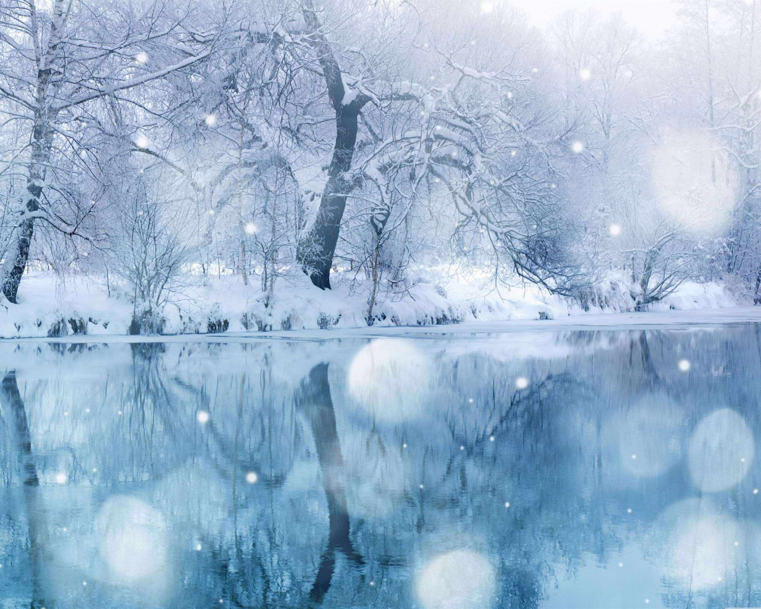 Beautiful winter desktop wallpaper