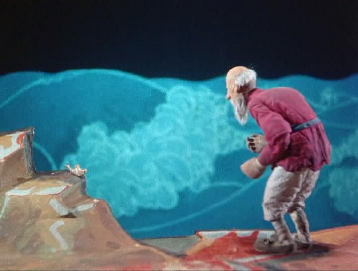 о рыбаке и рыбке мультфильм дабижа
