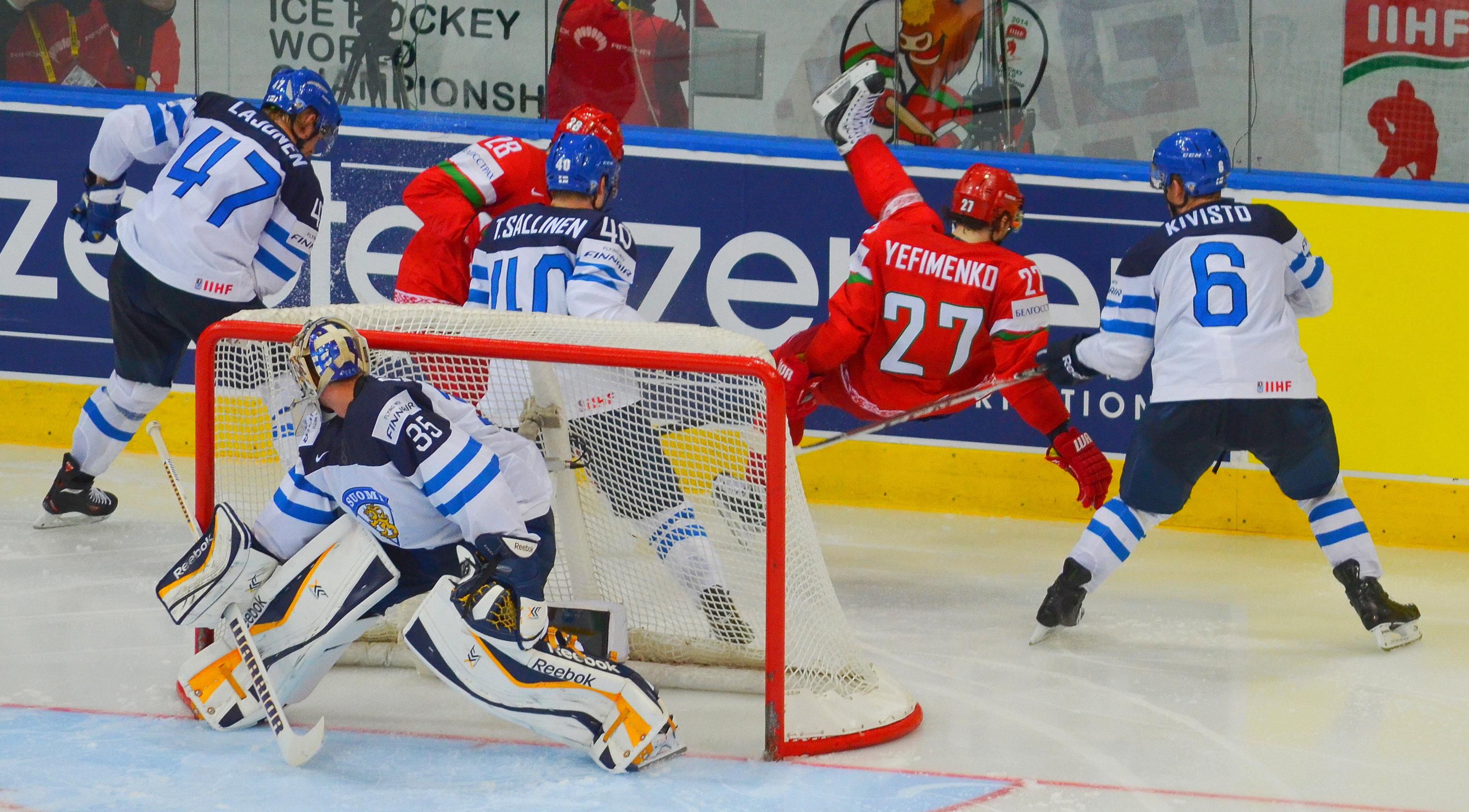 хоккейная акробатика