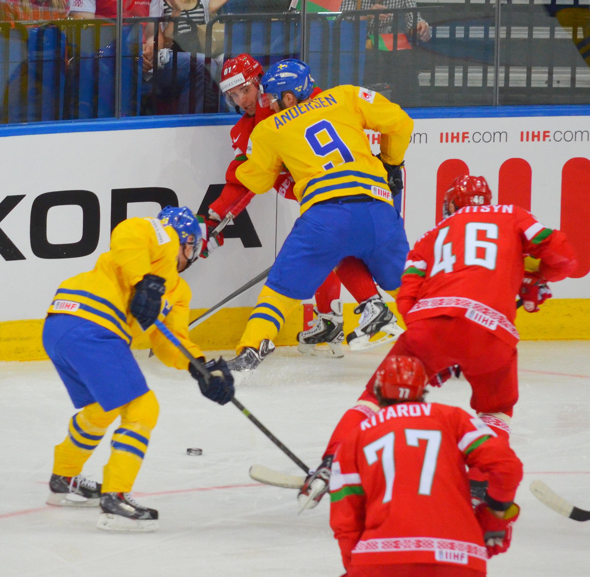 шведы и белорусы