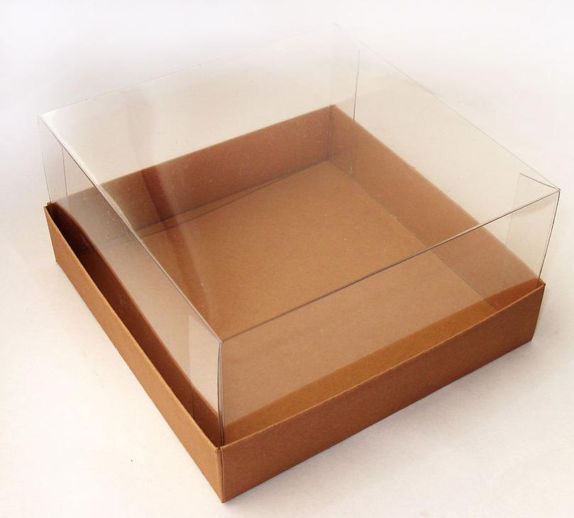 Прозрачная коробка своими руками