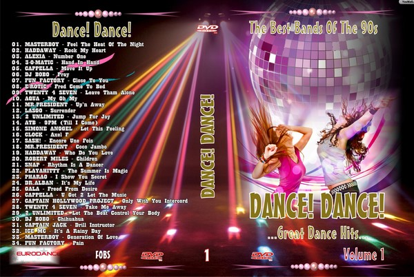 Dance! Dance! vol. 1 (2014) DVD9