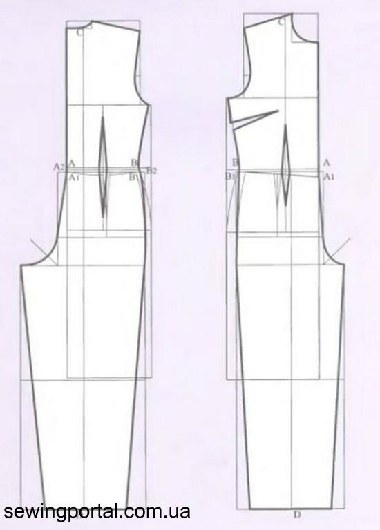 Выкройка прямого платья рукавами фото 963