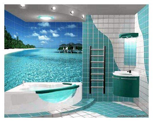 Дизайн ванных комнат – популярные решения отделки