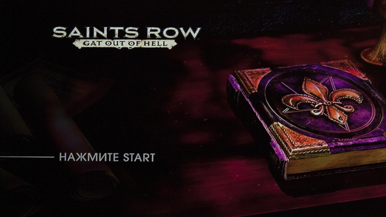 Saints Row - Gat out of Hell (2015) [PS3] EUR (4.65) [License] [En/Ru]