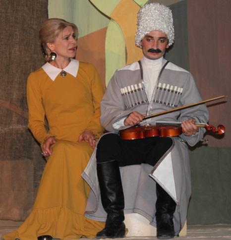 Премьера в Балкарском театре