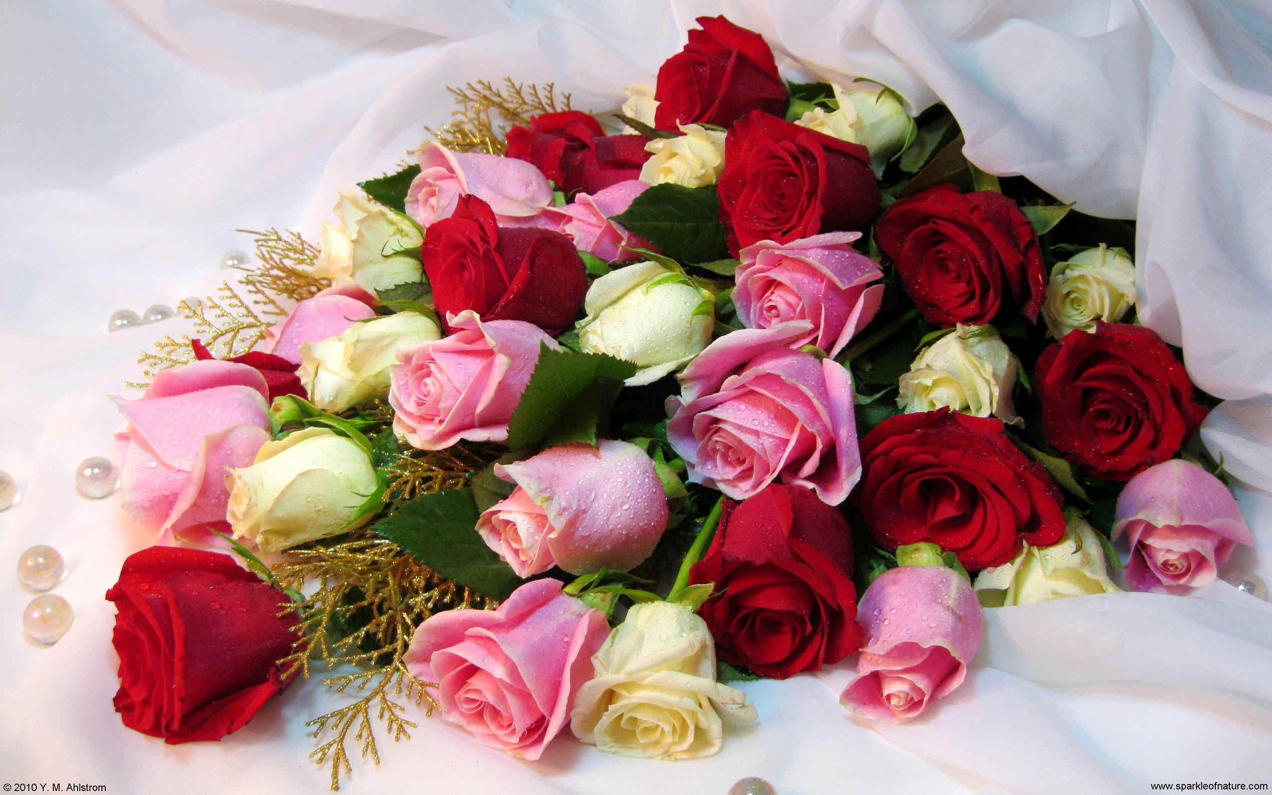 Фото самых красивых букетов цветов