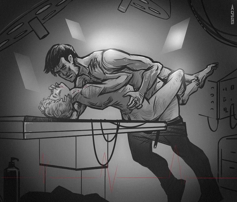 Секс винетт робинсон сержант салли донован