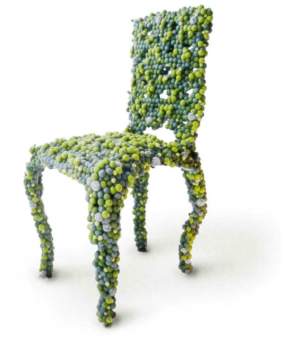 необычные стулья мебель