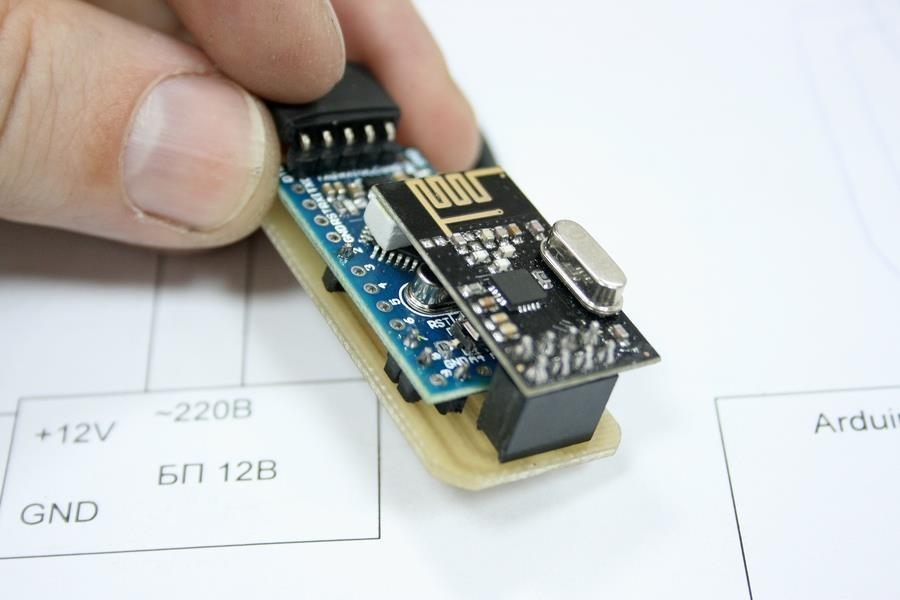 Радиометка своими руками на nrf24l01