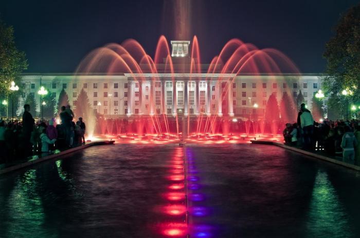 В Нальчике открывается сезон фонтанов