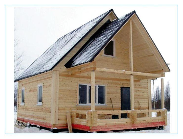 Брусовый дом - материал для строительства