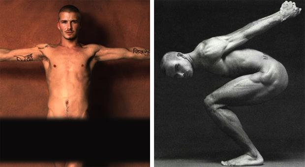David beckham nude pictures sorry, not