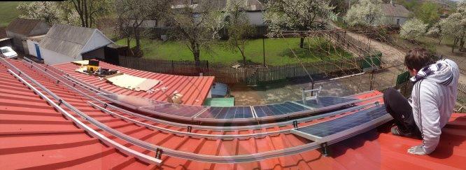 солнечная батарея +своими руками
