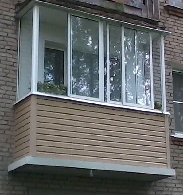 Как я стеклил свой балкон в боровлянах - боровляны.