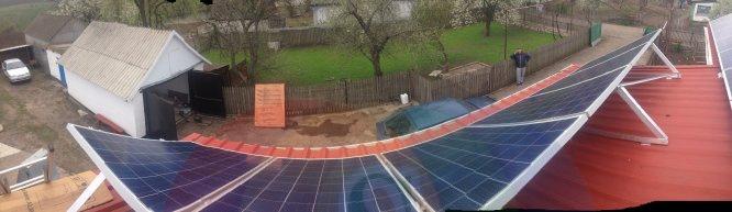 солнечные батареи +для дома