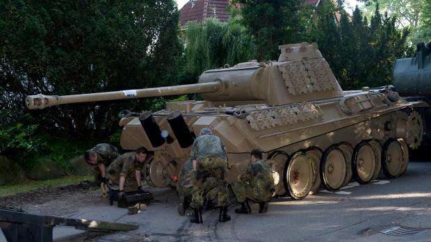 Немецкая полиция изъяла у местного жителя танк