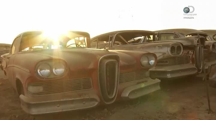 Discovery. Коллекционеры авто / Extreme car hoarders (2 сезон: 1-5 cерии) (2015) HDTVRip