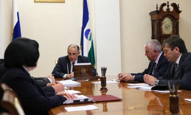 Юрий Коков провел совещание с руководством администрации Нальчика