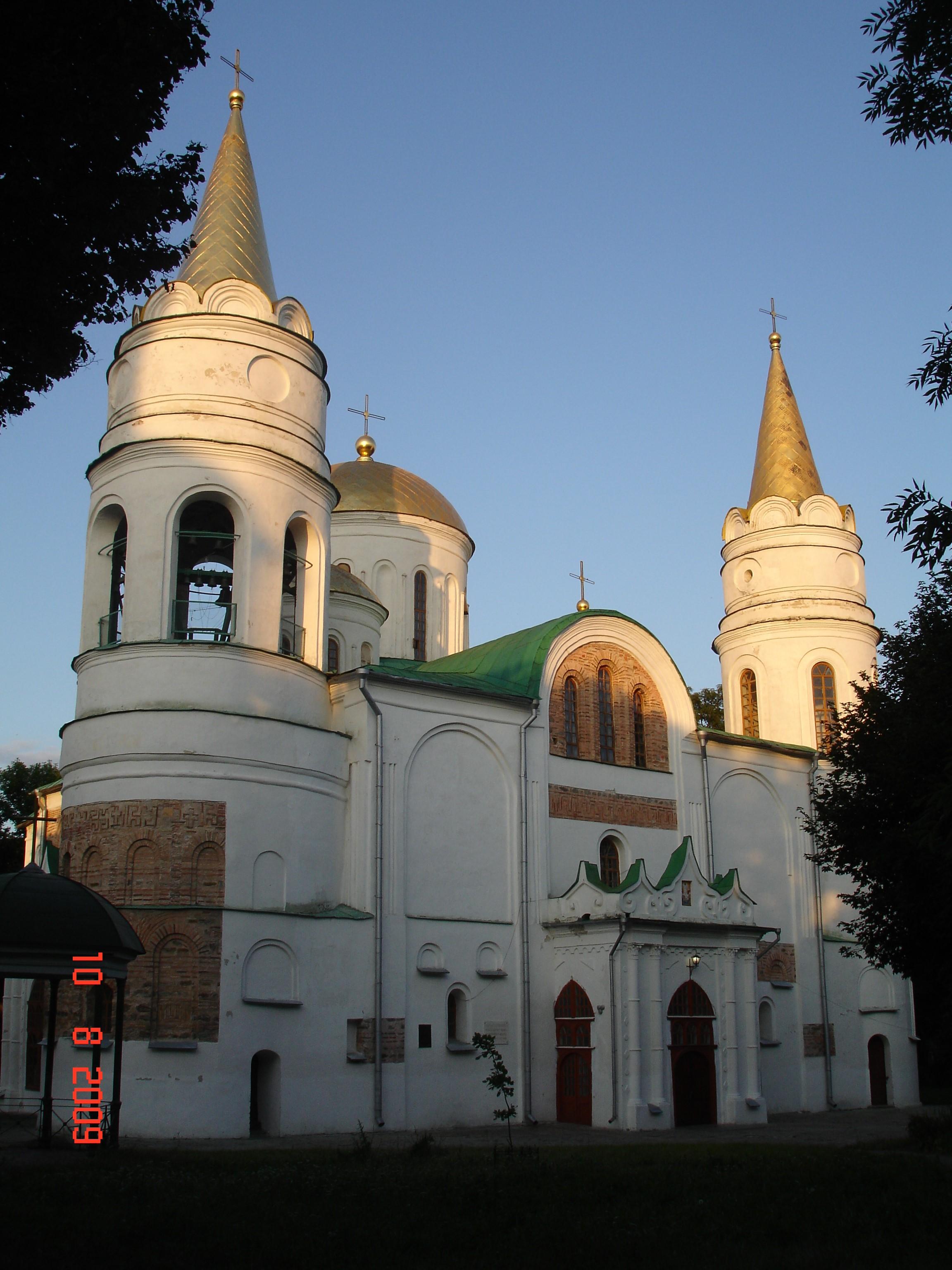 Чернігів. Спасо-Преображенський собор (близько 1033—1041). Фото — Тетяна Чернецька (2009).