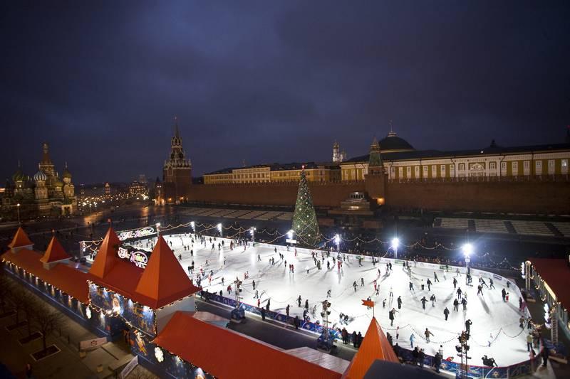 Счастливая ледяная Москва