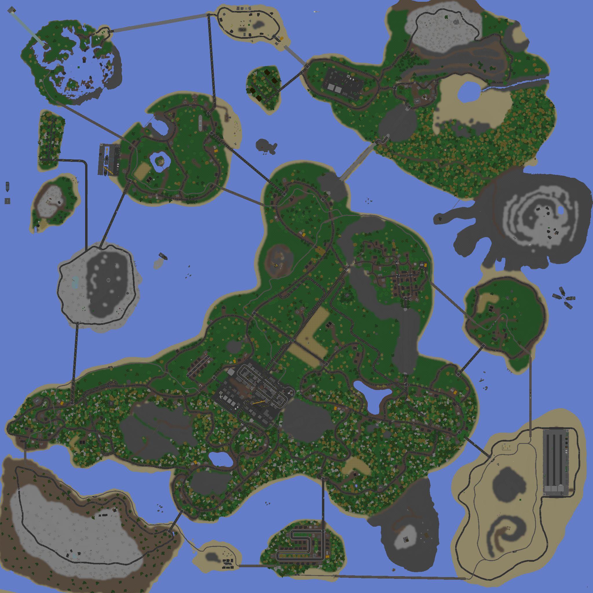 В unturned как сделать карту