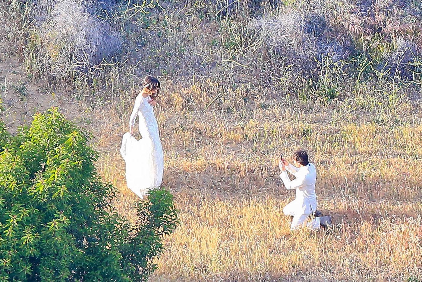 Сомерхолдер фото со свадьбы