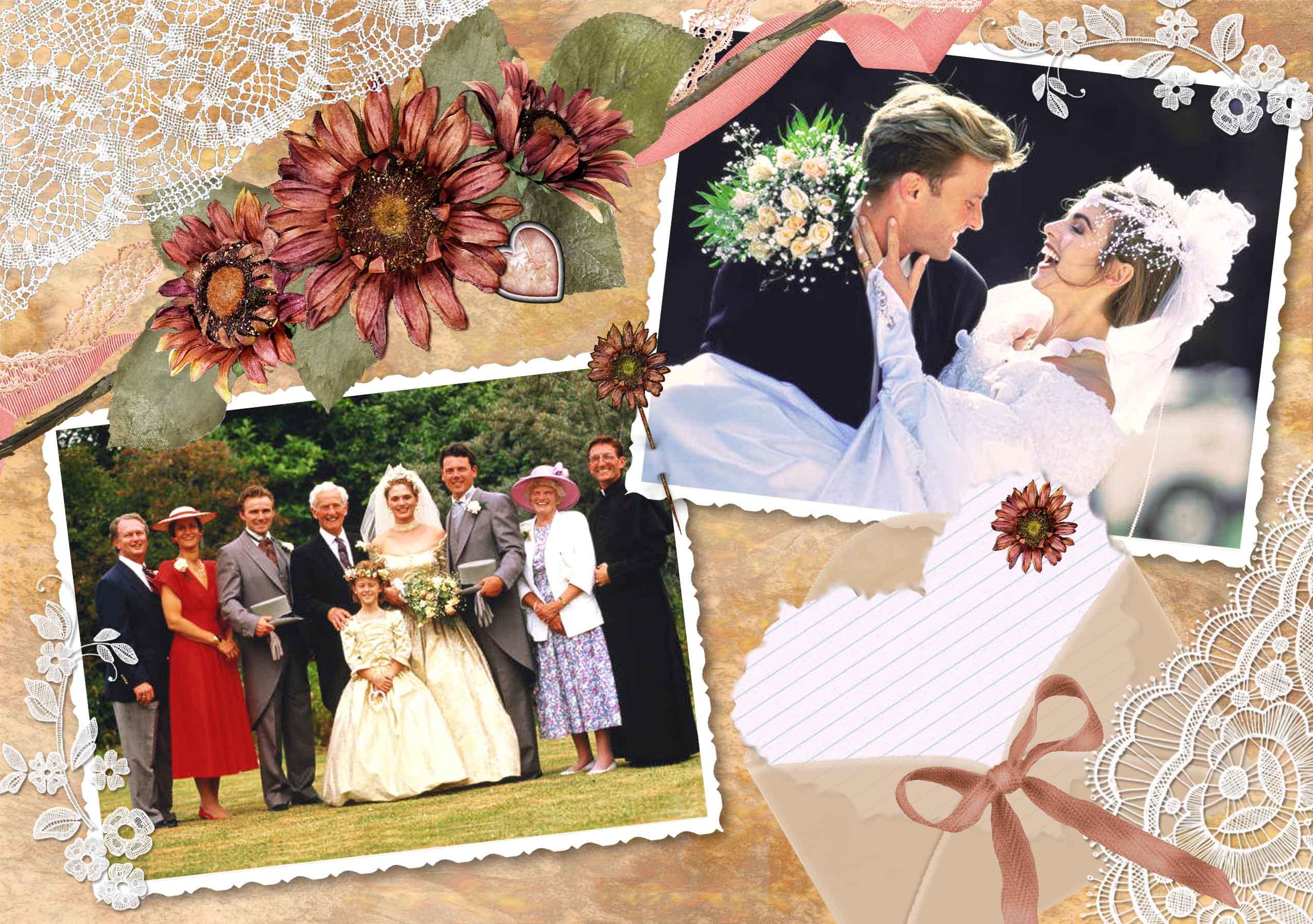 Как оформить свадебные фотографии своими руками 2