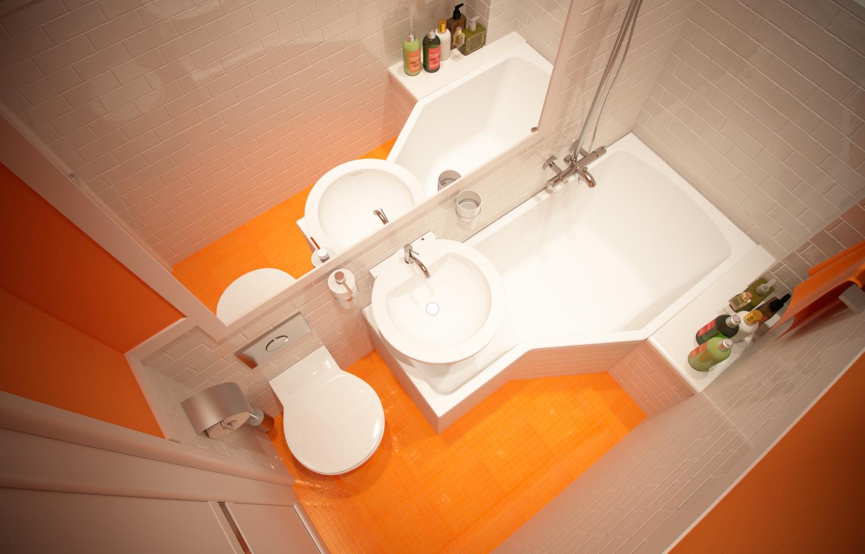 Маленькая ванная комната 3 кв. м дизайн