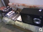 Комплект акустики + саб + підсилювач