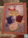 Кинусайга - японские картины из шелка 4f3eb8237f03d98a4798335c5e52d1f6