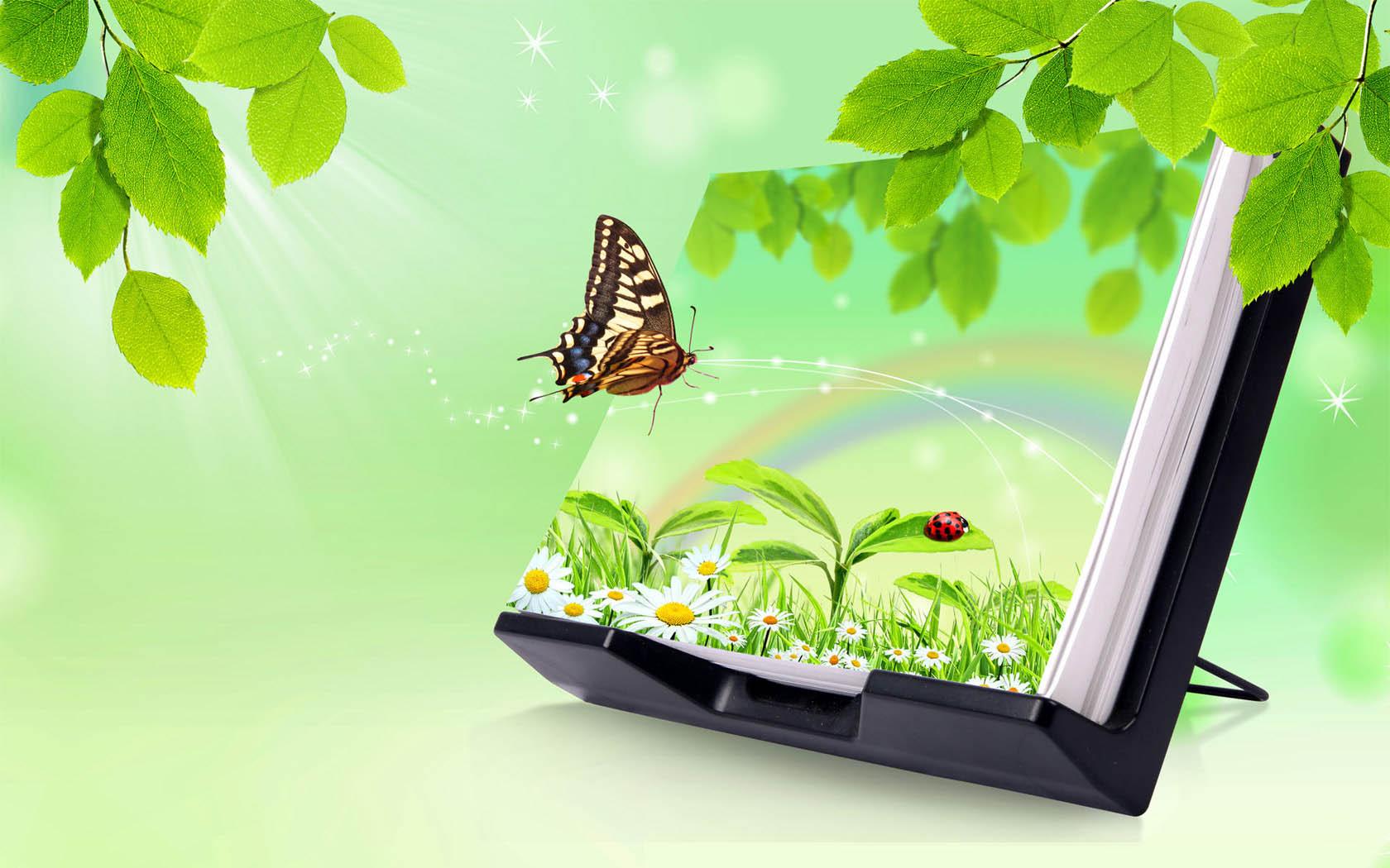 картинки для ноутбука весна чем