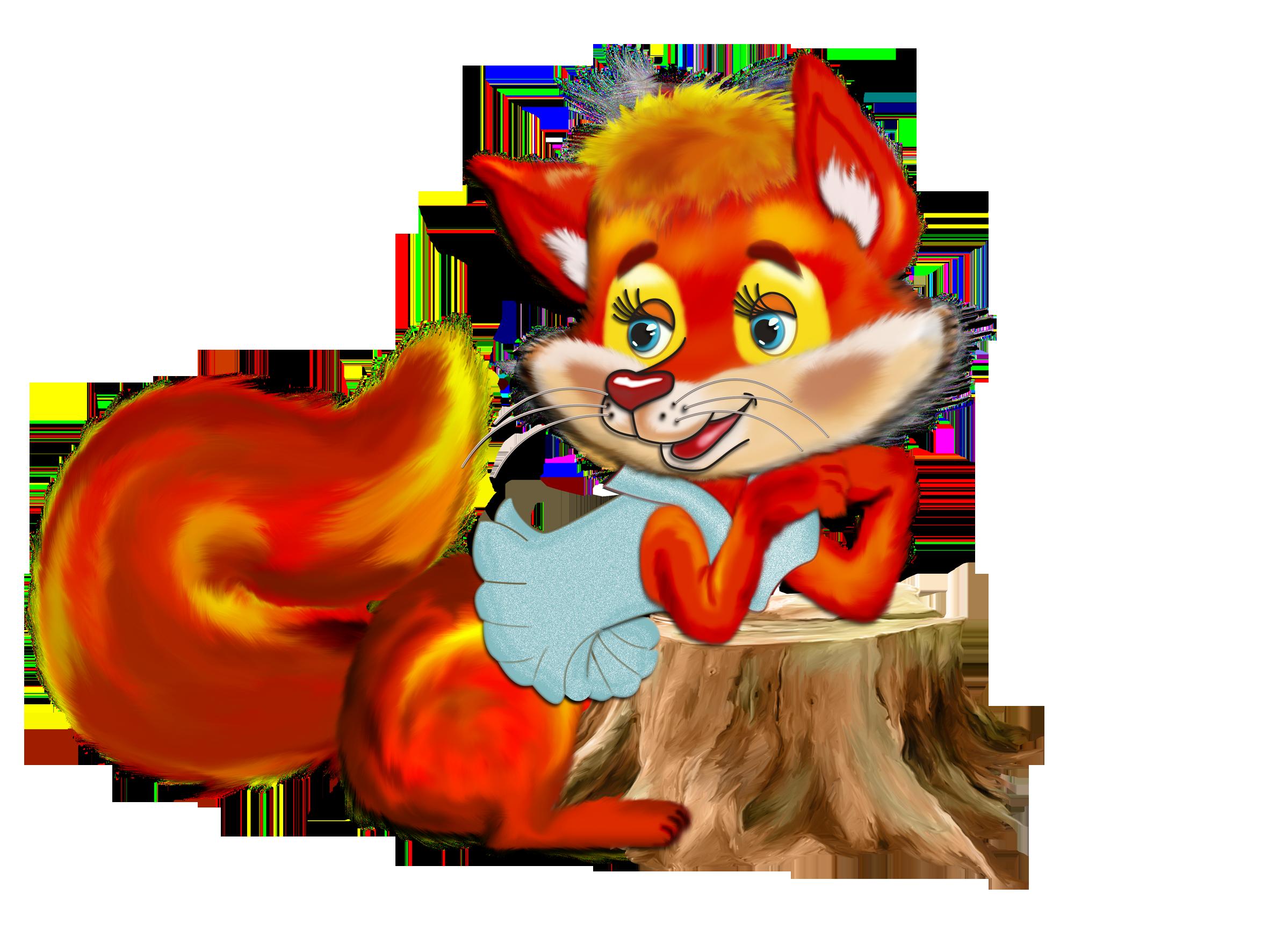 Картинки лисичка сказочная