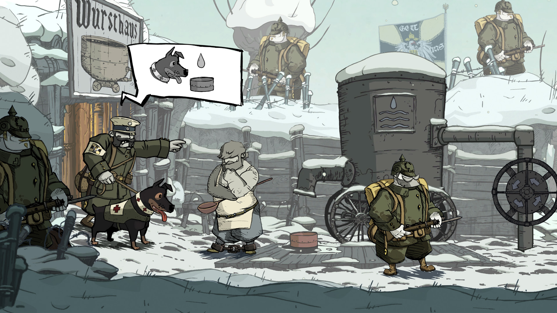 Valiant Hearts: The Great War (2014/XBOX360/Русский) | Freeboot