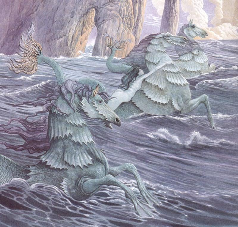 Шотландская мифология с картинками