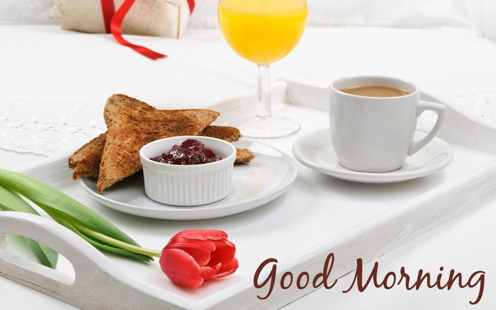 Завтрак кофе яичница сок тосты скачать
