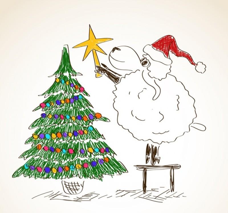 Нарисовать открытки на новый год 2015 смотреть онлайн, файлы для
