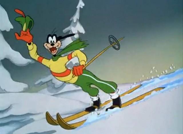Лыжи веселые картинки